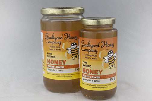 Backyard Honey Company Liquid Honey