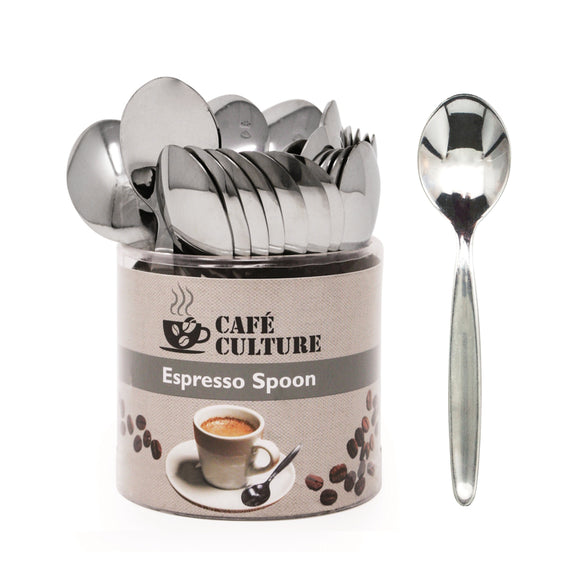 Cafe Culture Stainless Steel Espresso Spoon