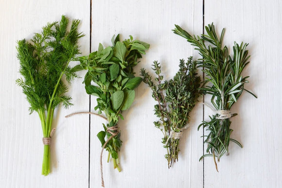 Virtual Cooking: Springtime Cooking with Fresh Herbs