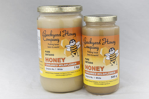 Backyard Honey Company Creamed Honey
