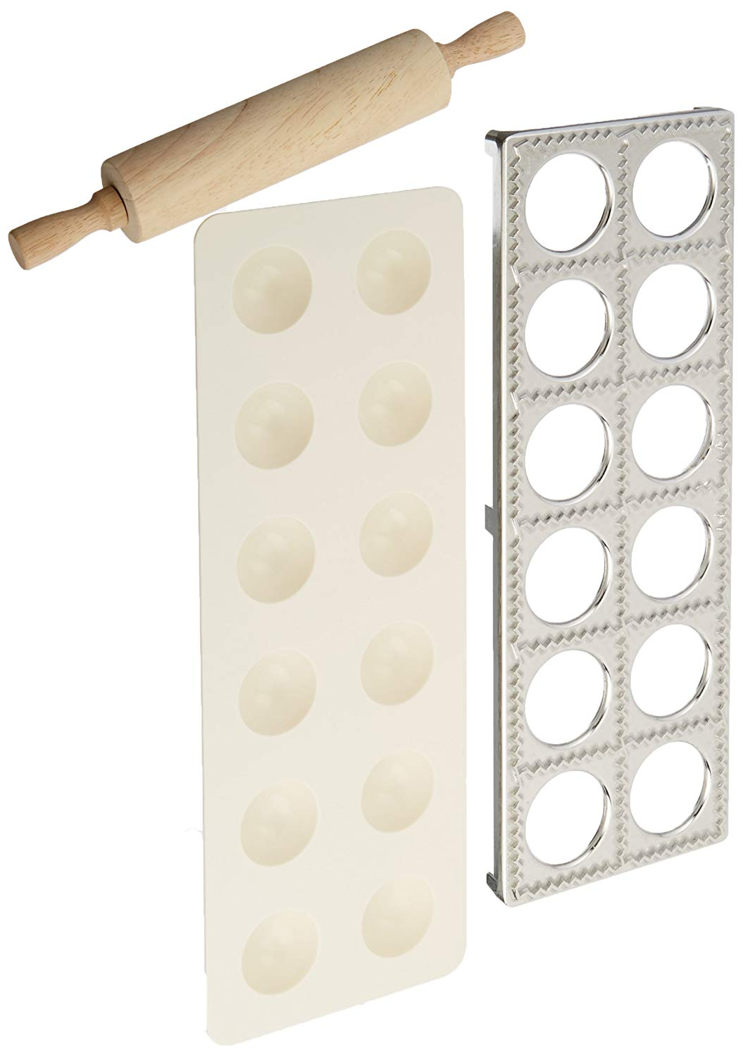 Norpro Ravioli Maker with Rolling Pin