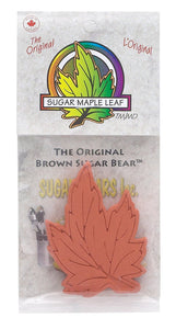 Brown Sugar Bear Sugar Saver Maple Leaf