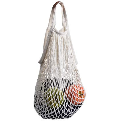 NEW - Mesh Cotton Shopping Bag
