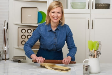 Anna Olson French Rolling Pin