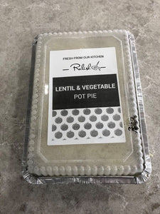 Lentil & Vegetable Pot Pie