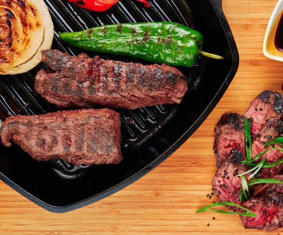 VIRTUAL COOKING: Spring Into Cast Iron Grilling