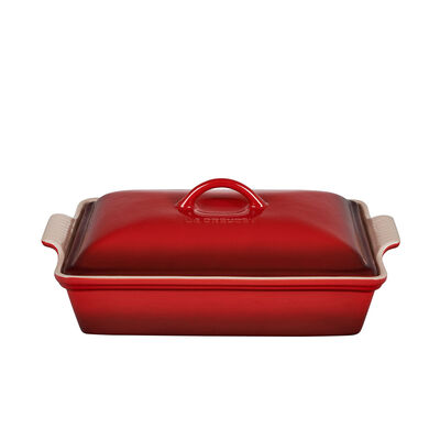 Le Creuset Heritage Rectangular Casserole Dish With Lid