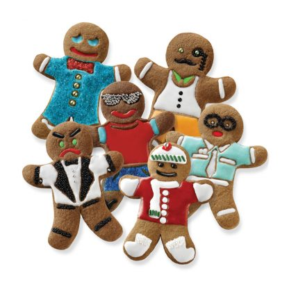 Tovolo Gingerbread Cookie Cutter Set