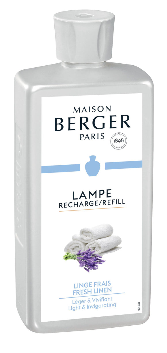 Maison Berger Paris Fresh Linen Lamp Fragrance