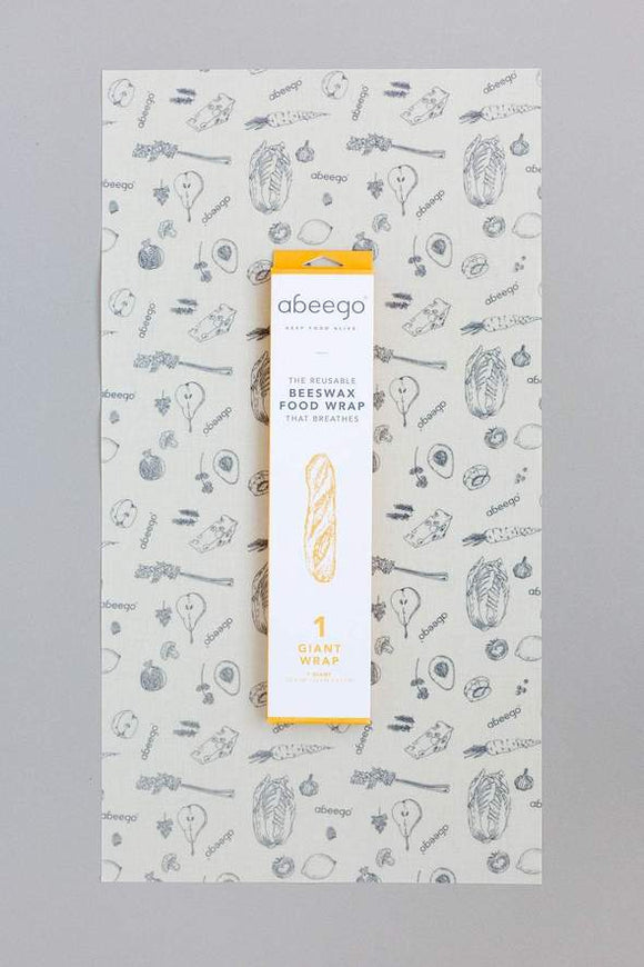 Abeego Beeswax Food Wrap - Giant Size