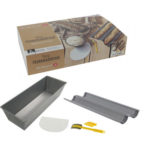 de Buyer Home Baking Bread Box
