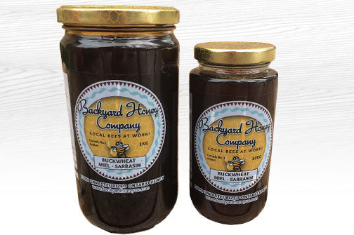 Backyard Honey Company Buckwheat Honey