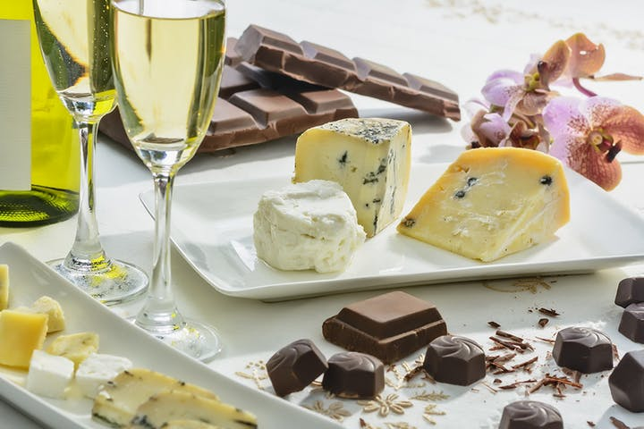 LESSONS IN LIBATIONS: A Wine, Cheese & Chocolate Pairing Event (Demonstration-Style)