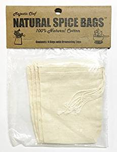Natural Spice Bags (Set of 4)