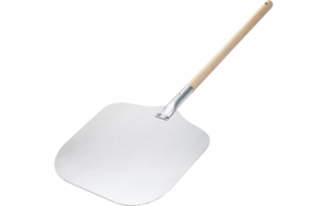 Browne Aluminum Pizza Peel with Wood Handle