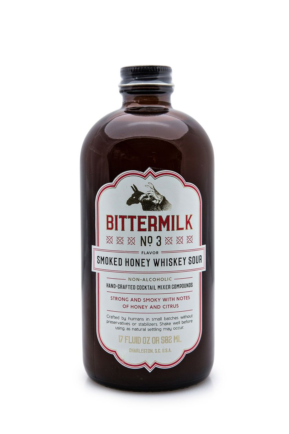 Bittermilk No. 3 Smoked Honey Whiskey