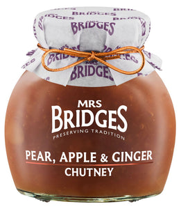 Mrs. Bridges Pear, Apple & Ginger Chutney