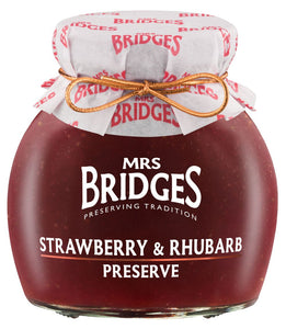 Mrs. Bridges Strawberry & Rhubarb Preserve
