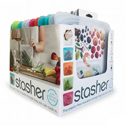 Stasher Reusable Storage Bags