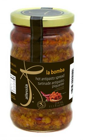 Allessia LaBomba Hot Antipasto Spread