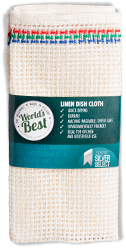 World's Best Linen Dish Cloth