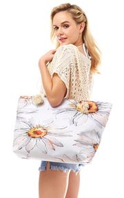 beach bag daisy