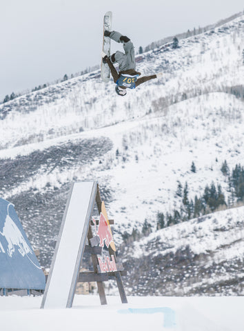 50-50 backflip off at the US.Open in Vail