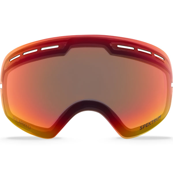 L004 POLARIZED CLEAR RED REVO