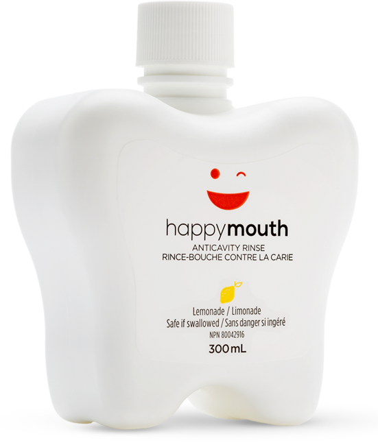 happymouth Lemon Anti-Cavity Rinse