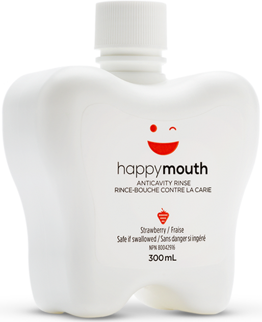 happymouth Strawberry Anti-Cavity Rinse