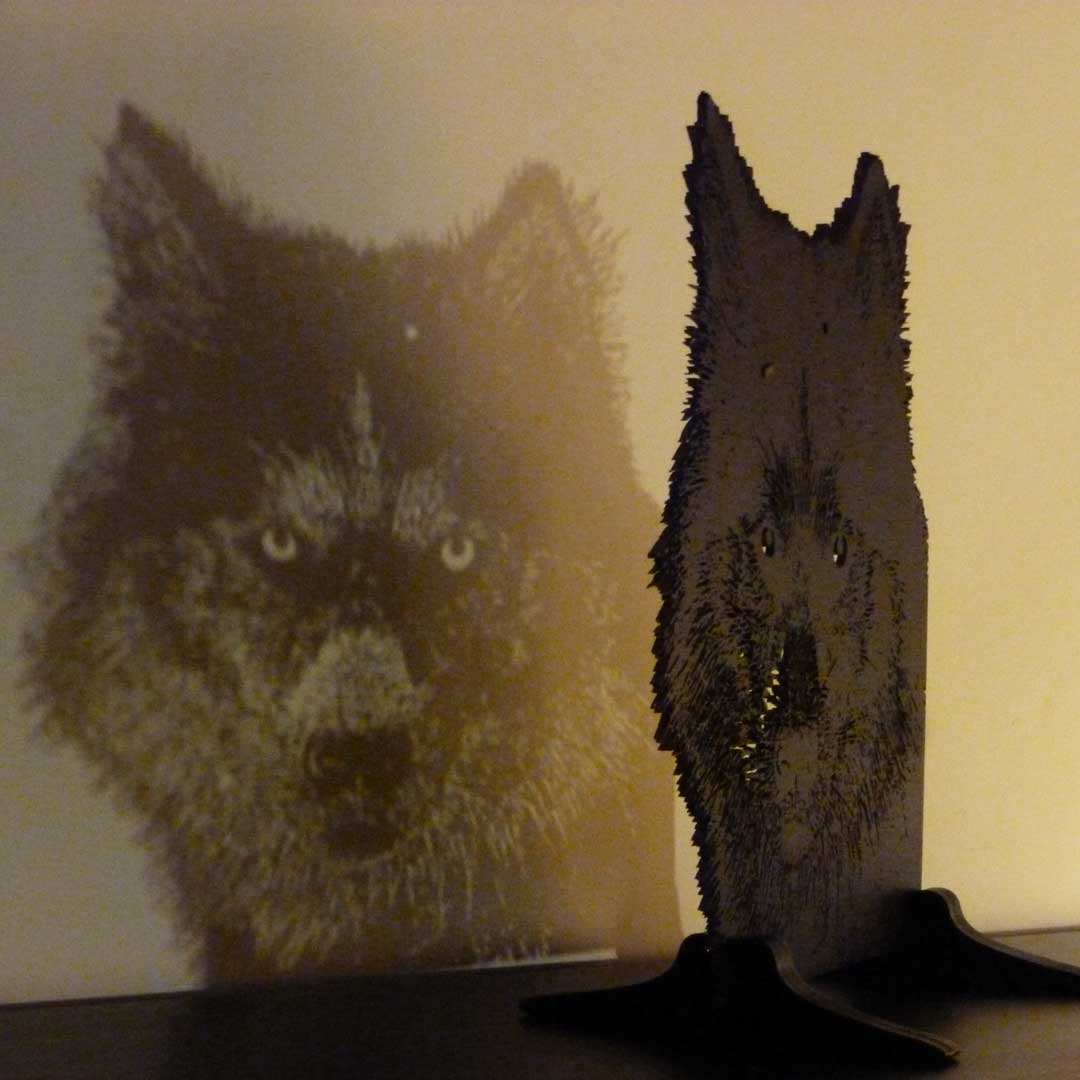 Husky intricate art