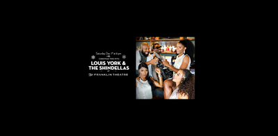 Louis York and The Shindellas to take Franklin Theatre stage for Christmas show