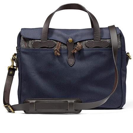 Twill and Tweed Original Briefcase Navy (70066)