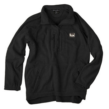 Banded UFS Fleece 1/4 Zip Black