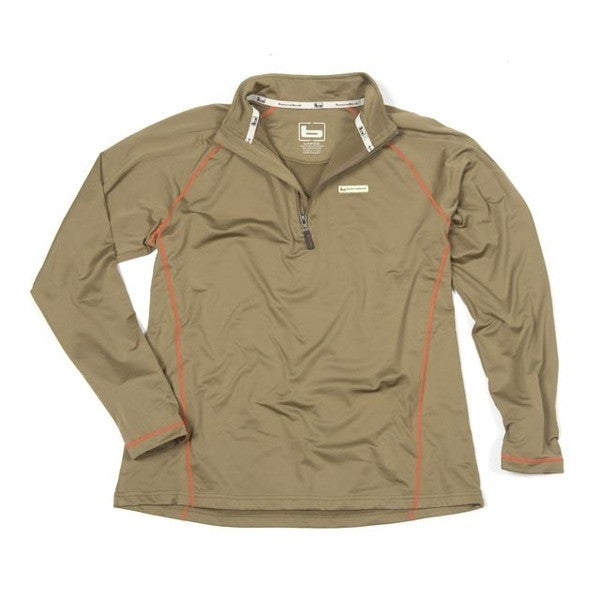 Polar Fleece 1/4 Zip Pullover Spanish Moss