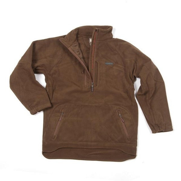UFS Fleece 1/4 Zip Jacket Rust