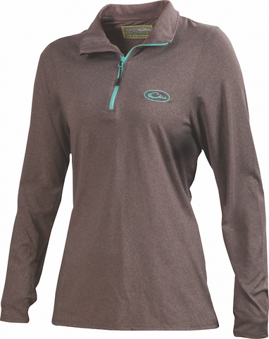 Ladies' Microlite Performance Half Zip  DL1181
