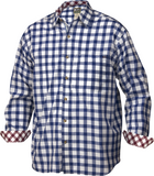 Drake Waterfowl Long Sleeve Accented Gingham Cotton Shirt DW2641