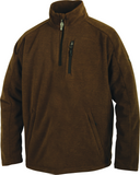DW8510 Heathered Windproof 1/4  Zip