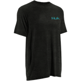 Huk KScott Happy Hour Tee DARK GREY HEATHER H1000030