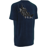 Huk KScott Strike Off Tee Heather NAVY  H1000031