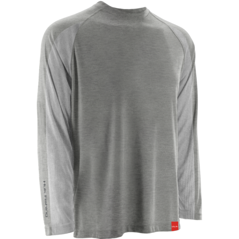 Huk NXTLVL Longsleeve True Grey Heather H1200014 TGH