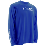 Huk ICON Long Sleeve H1200064RYL ROYAL