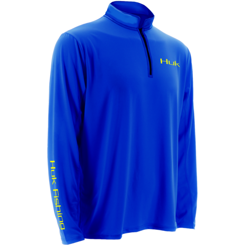 Huk Icon 1/4 Zip Royal H1200065-RYL