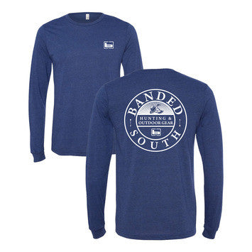 Banded South L/S Tee NAVY