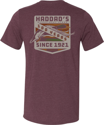 Haddad's 100 years Mallard Short Sleeve T-Shirt