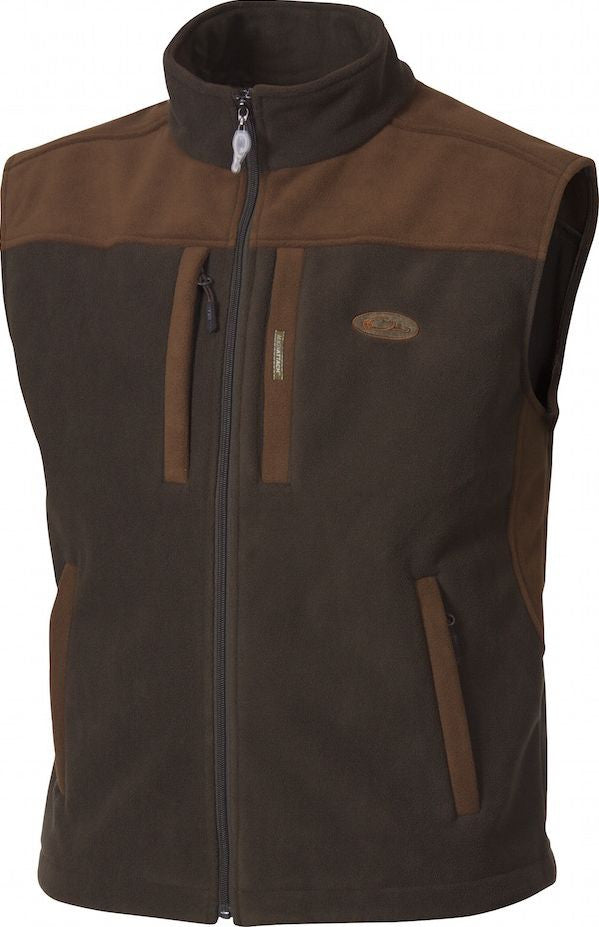 DW1600 MST Windproof Two-Tone Layering Vest Olive/Brown