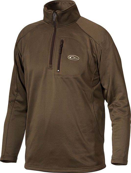 Drake Waterfowl BreatheLite Quarter-Zip Pullover DW2040