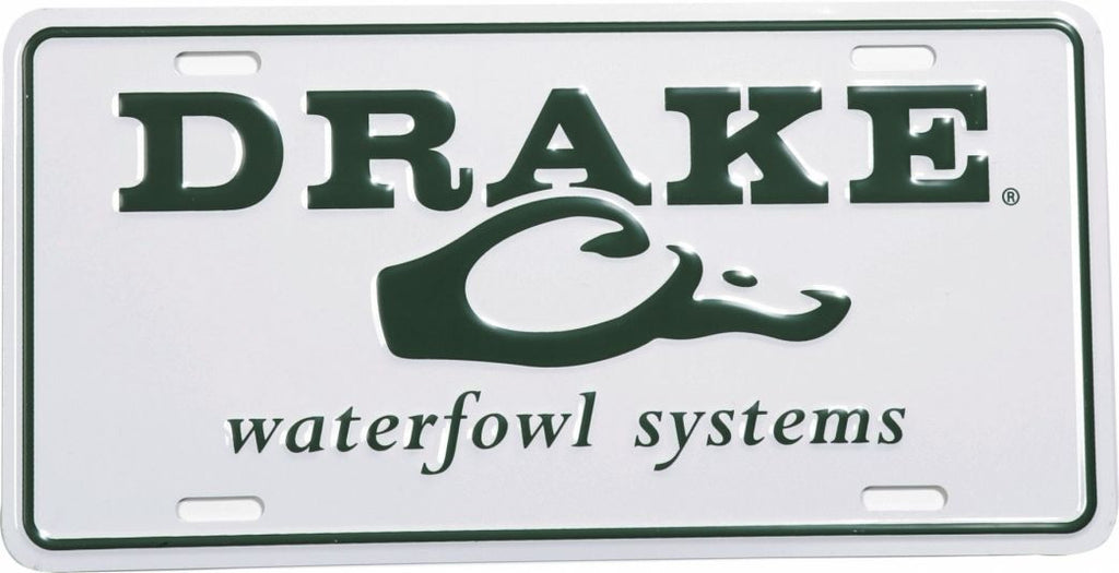 Drake Logo License Plate  DW801