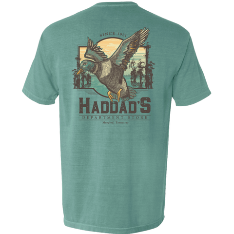Haddad Mallard T-Shirt Comfort Colors Short Sleeve